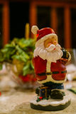 Santa Claus liten leksakgarnering Royaltyfri Fotografi