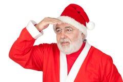 Santa Claus looking Royalty Free Stock Images
