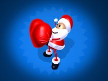 Santa Claus love Royalty Free Stock Images