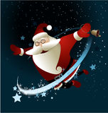 Santa Claus mágica Fotos de archivo libres de regalías