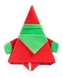 Santa Claus made of paper Stock Image