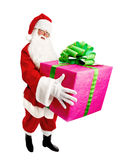 Santa Claus Makes a Great Gift for You Royalty Free Stock Image