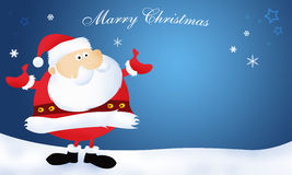 Santa Claus Marry Christmas Stock Image