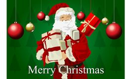 Santa claus merry christmas Royalty Free Stock Photo