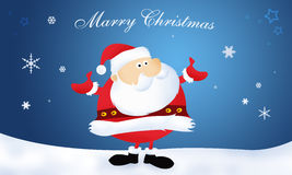 Santa Claus Merry Christmas. Santa Claus. Marry Christmas and Happy New Year royalty free illustration