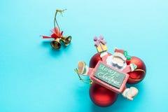 Santa Claus Merry Christmas pour vous photo stock