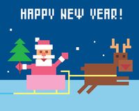 Santa claus śmieszne obraz stock