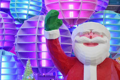 Santa Claus model for decorate Royalty Free Stock Images