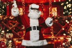 Santa Claus moderna foto de archivo