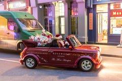 Santa Claus moderna Fotos de Stock Royalty Free