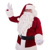 Santa Claus montre le geste Photo stock