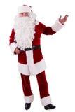 Santa Claus mostra o gesto Imagem de Stock