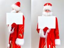 Santa Claus Mugshot. Stock Photography