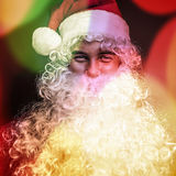 Santa Claus. Multicolored image. Stock Photos