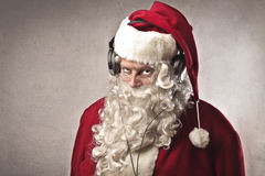 Santa Claus Music Stock Photo