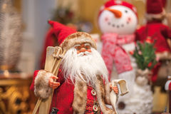 Santa Claus, New Year 2014 Stock Image