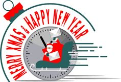 Santa Claus  New Year Time Stock Photography