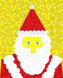 Santa Claus no gráfico colorido Fotos de Stock