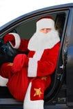 Santa Claus. Nytt år och jul Royaltyfri Bild