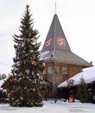 Santa Claus Office i Rovaniemi, Finland Fotografering för Bildbyråer