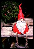 Santa claus. Old vintage santa Stock Images
