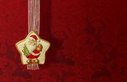 Santa Claus ornament Stock Images