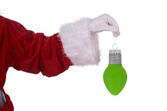 Santa Claus with ornament Stock Photography