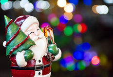 Santa claus, Ornament decorate Merry Christmas and happy new year Royalty Free Stock Image