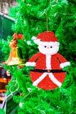 Santa Claus ornament hanging Stock Photography