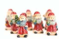Santa Claus ornaments Royalty Free Stock Photos