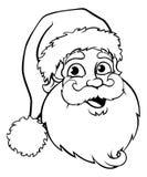 Santa Claus Outline libre illustration