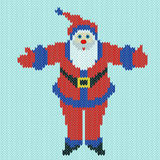 Santa Claus with outstretched arms Stock Photo