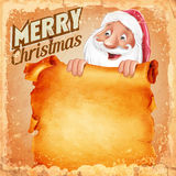 Santa claus paper Stock Images