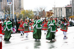 The Santa Claus Parade 2008 Royalty Free Stock Image