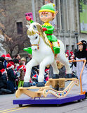 109. Santa Claus Parade in Toronto Stockfotografie