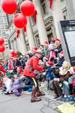 109. Santa Claus Parade in Toronto Stockbild