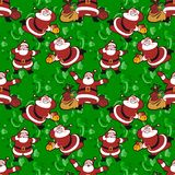 Santa Claus pattern Royalty Free Stock Photography