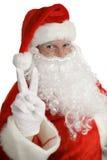 Santa Claus Peace Sign Royalty Free Stock Photos