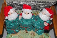 Santa peluche royalty free stock photo