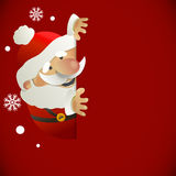 Santa Claus with place for your text Stock Photos