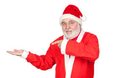 Santa Claus Pointing Stock Images