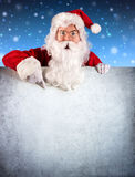 Santa Claus Pointing photographie stock