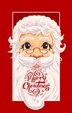Santa Claus Portrait immagine stock