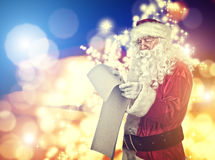 Santa Claus Portrait Royalty-vrije Stock Foto