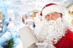 Santa claus portrait Stock Photos
