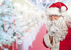 Santa claus portrait Stock Images