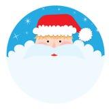 Santa Claus Portrait vector illustration