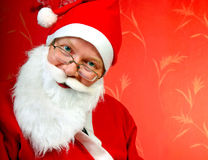 Santa Claus Portrait Stock Photography