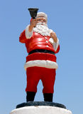 Santa claus posąg fotografia stock