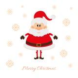 Santa Claus postcard Stock Image